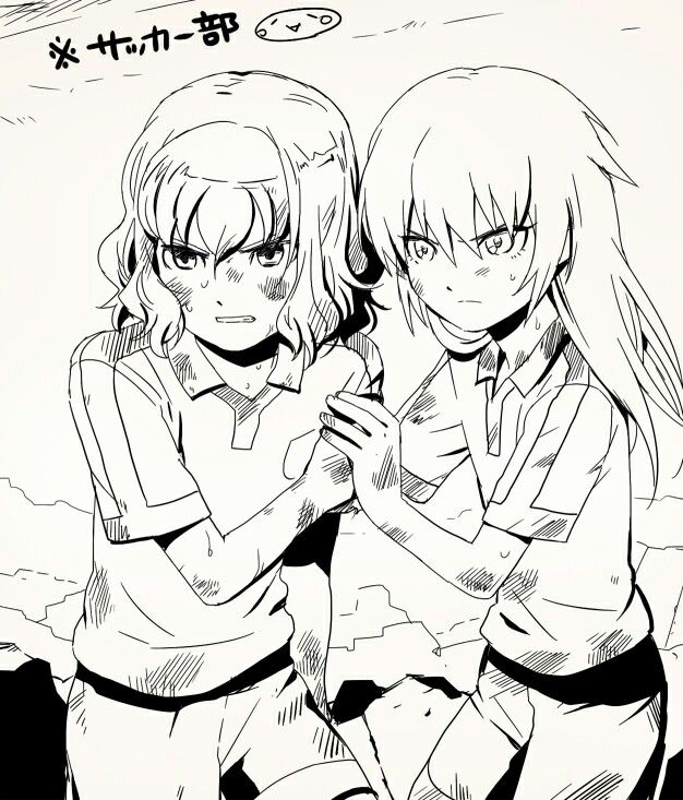 Inazuma eleven go - Kirino and Shindou
