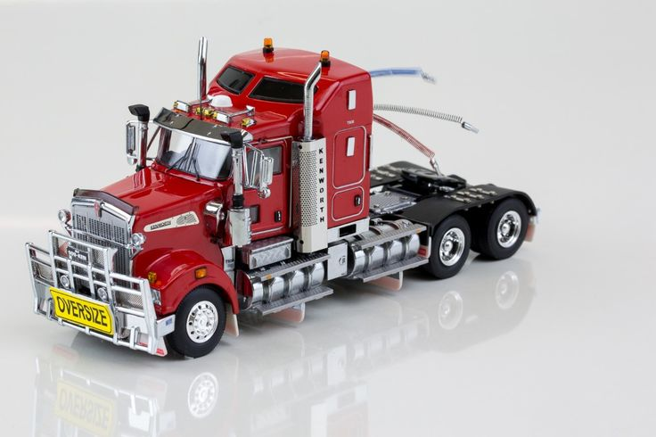 Kenworth Models : Kenworth T909 Prime Mover Rosso Red