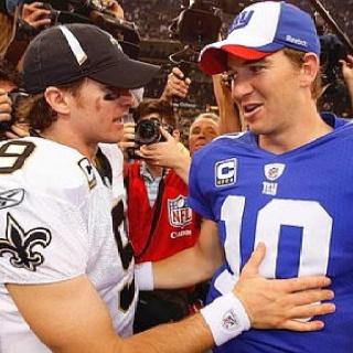 Drew Brees & Eli Manning