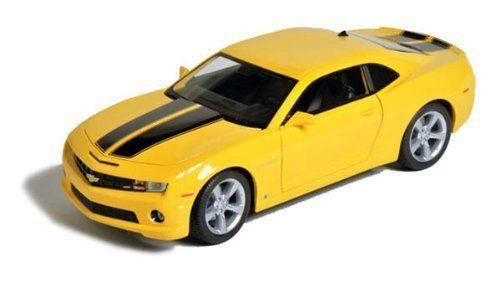Maisto Special Edition - 2010 Chevrolet Camaro SS RS Model Car 1:24 - Yellow (31207)  Manufacturer: Maisto Enarxis Code: 018124 #toys #Maisto #miniature #cars #Chevrolet #Camaro