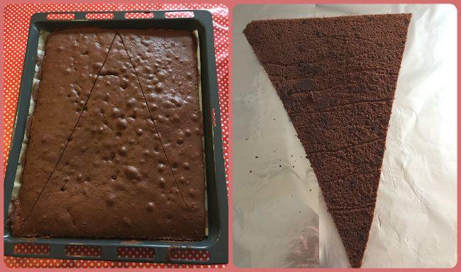 Schultüten Kuchen: ein einfaches Backrezept zum Schulanfang