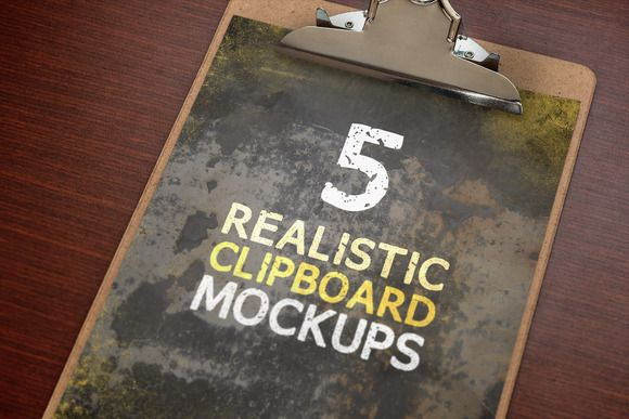 Check out Clipboard Mockups Volume 1 by Design Panoply on Creative Market