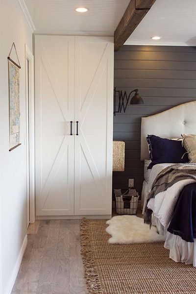 Barn Door Modern TwistBest 25  Modern farmhouse bedroom ideas on Pinterest   Farmhouse  . Farmhouse Bedroom. Home Design Ideas
