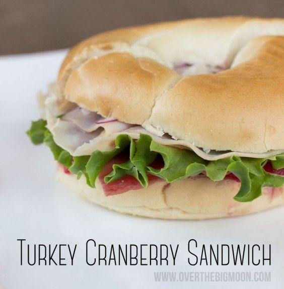 The best Turkey cranberry sandwich with 2 surprise ingredients!