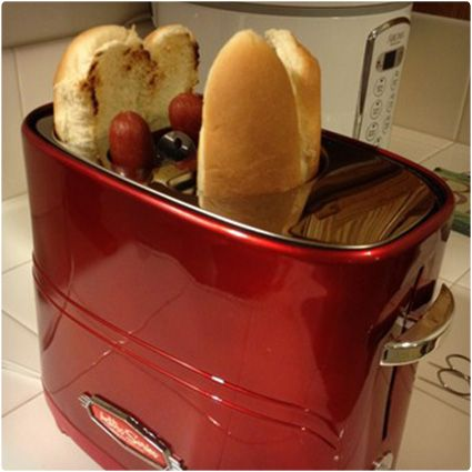 100 Most Unique Christmas Gifts of 2013 for Men. I just might get the hotdog toaster so I can enjoy it with boyfriend hahahaha!