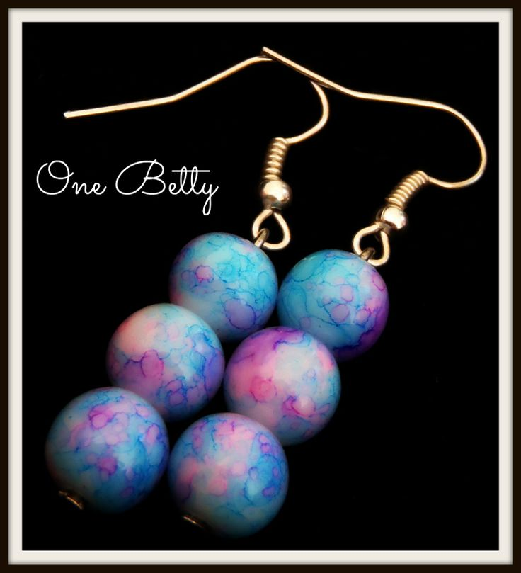 Beach Belle #earrings #madeitau #onebetty