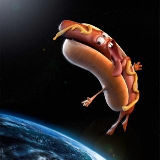 Flying Hot Dog