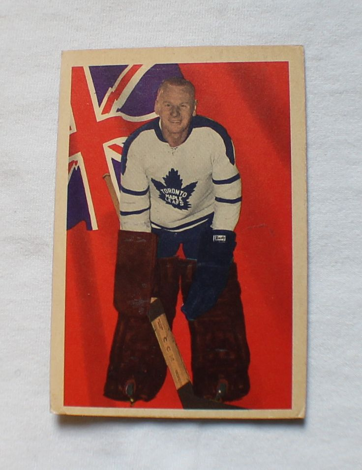1963 64 Parkhurst #65 John Bower Card VG-EX Toronto Maple Leafs Hockey NHL by ChimoTreasures on Etsy