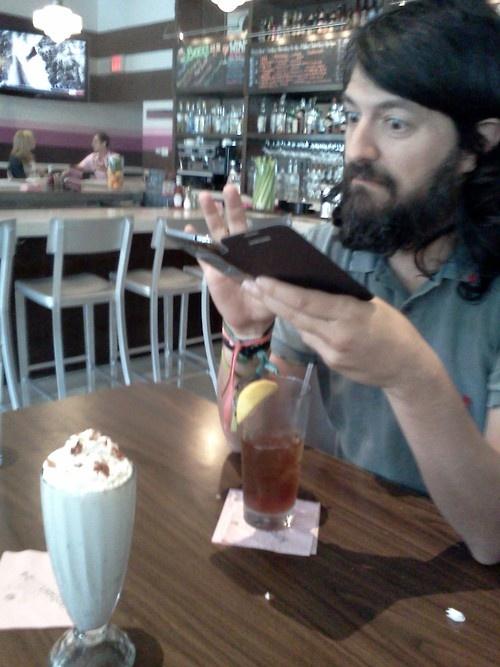 Vanilla-shake-with-bacon shot. Thanks go toBjornfor this excellent pairing. #TriShakr #Moment #Trishaking #Foodie