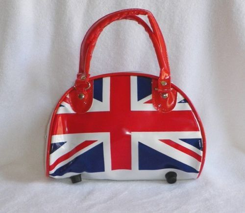 Cute-Trendy-UK-British-Flag-Union-Jack-Handbag-F-Patent-Leather-Purse-Bag-Clutch