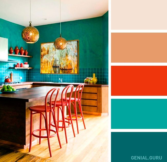 Color combination    Buenas ideas para los que quieran diseñar suhogar con estilo