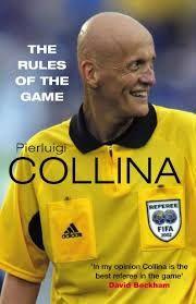 Image result for pierluigi collina yellow card