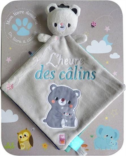 L'Heure des câlins : mon livre doudou - ANNE-LAURE PARROT #renaudbray #bébé #jouet #peluche #ourson #livre