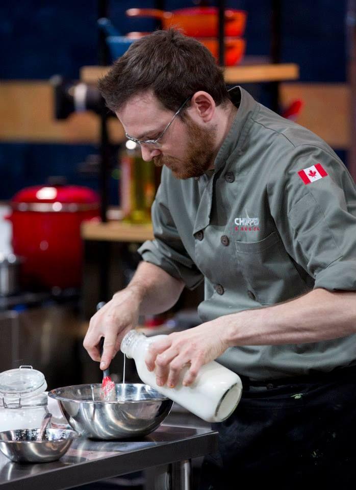 Chef Matt gets down to work.
