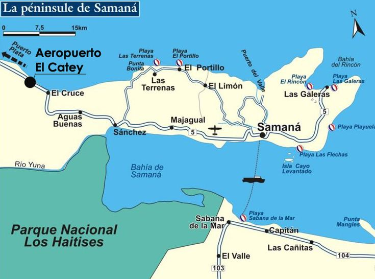 Las Galeras, Samana, Dominican Republic