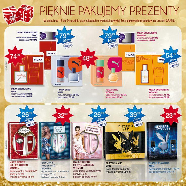 Świąteczne promocje w Super-Pharm - oferta ważna od 28.11.2013 r. do 24.12.2013 r.