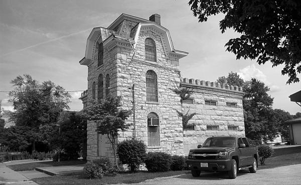 Route 66 - Macoupin County Jail, Carlinville, Illinois.
