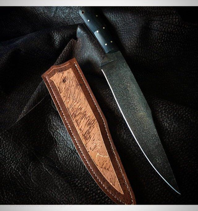 Hand Forged Texan Bowie Knife By Splitpineforge On Etsy Https Www Etsy Com Listing 659815134 Hand Forged Texan Bowi Bowie Knife Tactical Knives Folding Knife