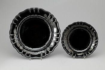 SERVIS, flintgods, 13 delar, Arthur Percy, Gefle porslinsfabrik, 1927-43.