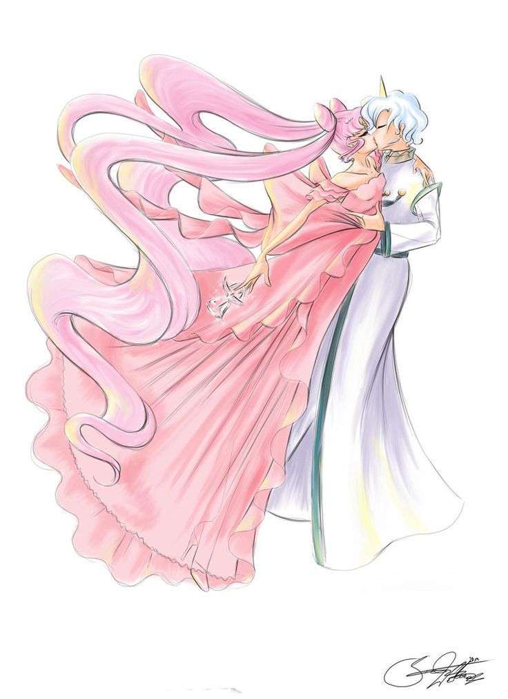 Helios and Princess Lady Serenity by SilverCatseyes on DeviantArt