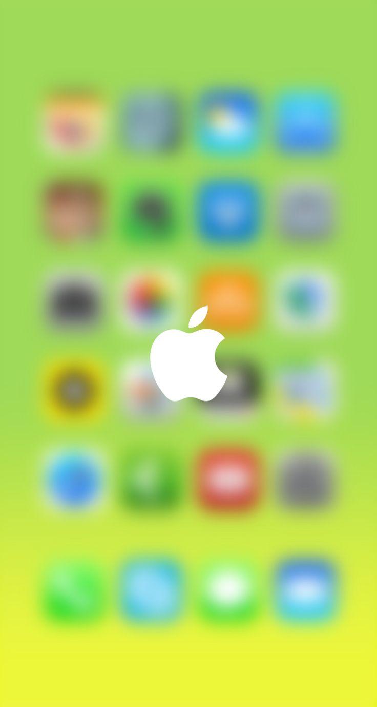 Wallpaper iphone 5 - Iphone 5 Blurry Wallpaper
