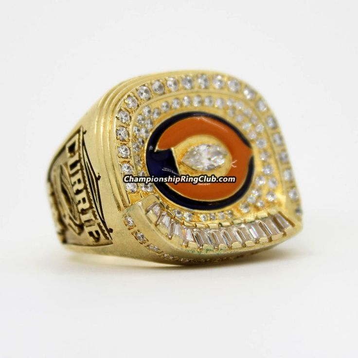 Chicago Bears 2006 NFC Championship Ring - ChampionshipRingClub.com