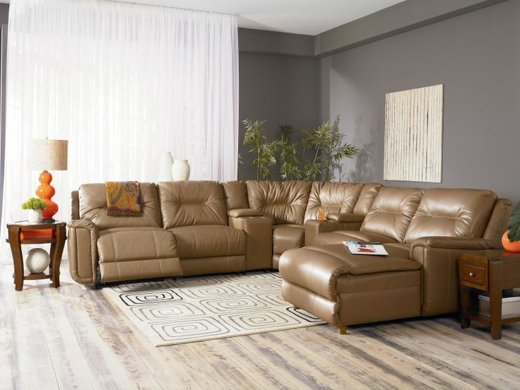 Clausen Power Reclining Sofa Sectional W/Chaise : reclining sofa chaise - islam-shia.org