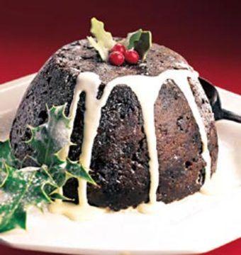savvyhosuekeeping flaming plum pudding christmas