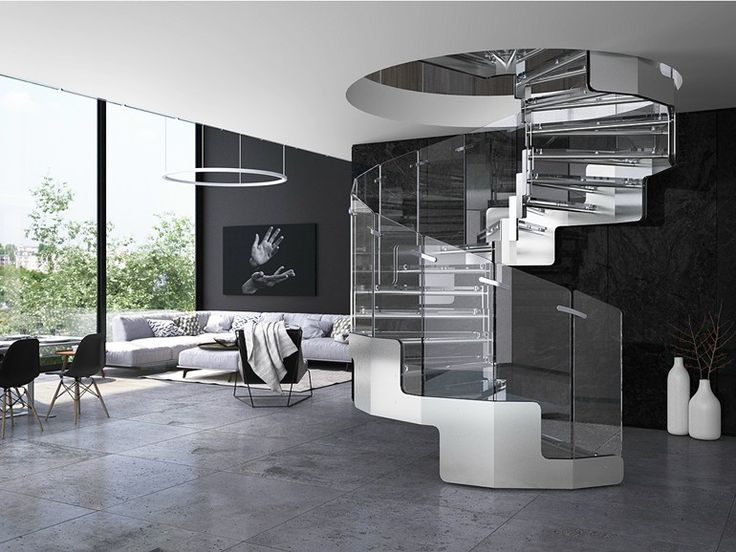 Best Glass And Stainless Steel Spiral Staircase Joy Spiral 400 x 300