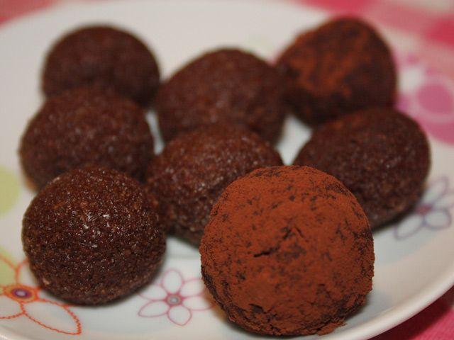 Palline ciocc-okara – Vegan blog – Ricette Vegan – Vegane – Cruelty Free