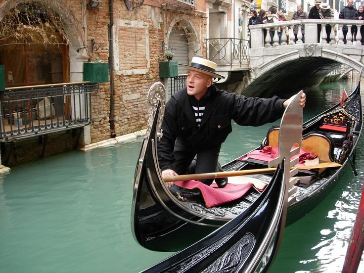 Gondola, Venice, Veneto, December 2004