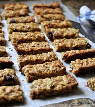 "Homemade Granola Bars | ""The Domestic Mama"""