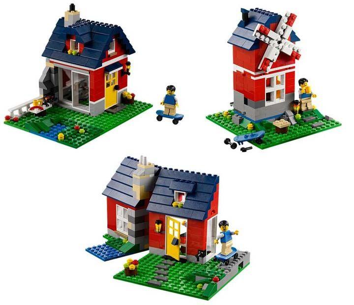 Lego rumah rumahan