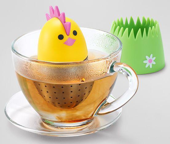 Plovoucí vajíčko na čaj