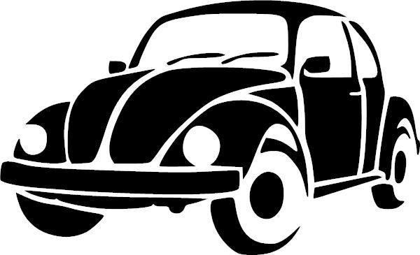 Vw Beetle Vinyl Decal Schablonen Volkswagen Kafer Kafer