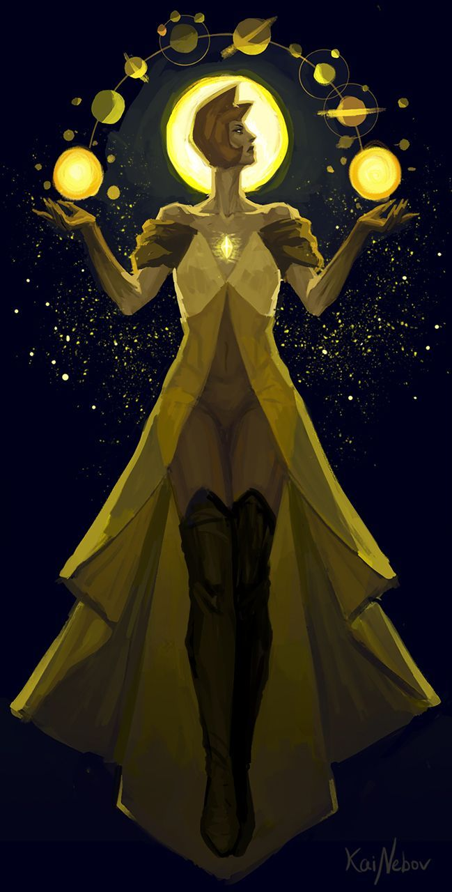 1534 best images about steven universe on pinterest for Yellow diamond mural