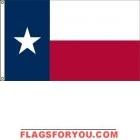 2' x 3' Texas As A Republic High Wind, US Made Flag
