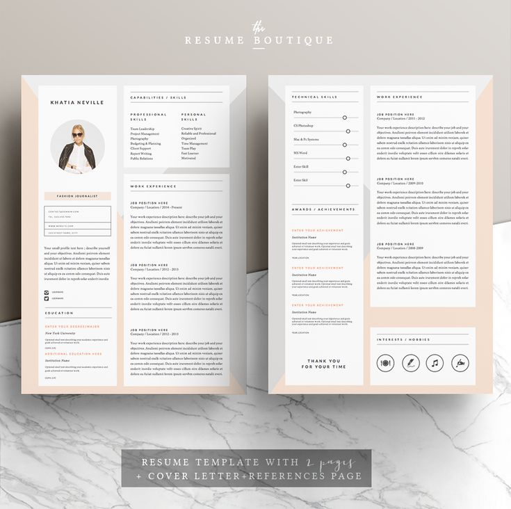 71 best ✏ Professional Resume Templates images on Pinterest - unique resume templates