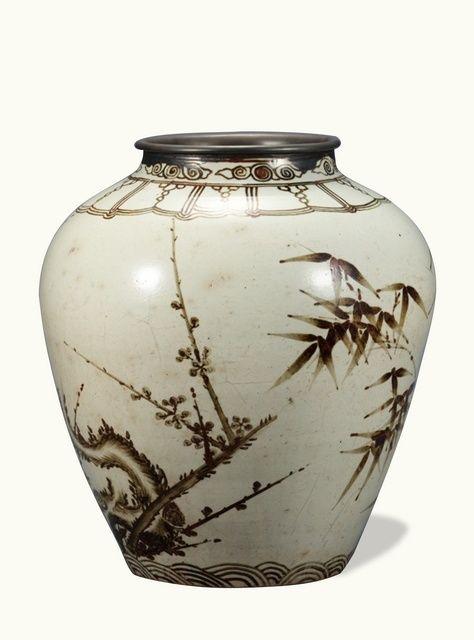 joseon dynasty art | Joseon Dynasty (16th Century)] Jar, White ... | Korea - Arts and Cra ...