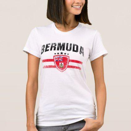 Bermuda T-Shirt - retro gifts style cyo diy special idea