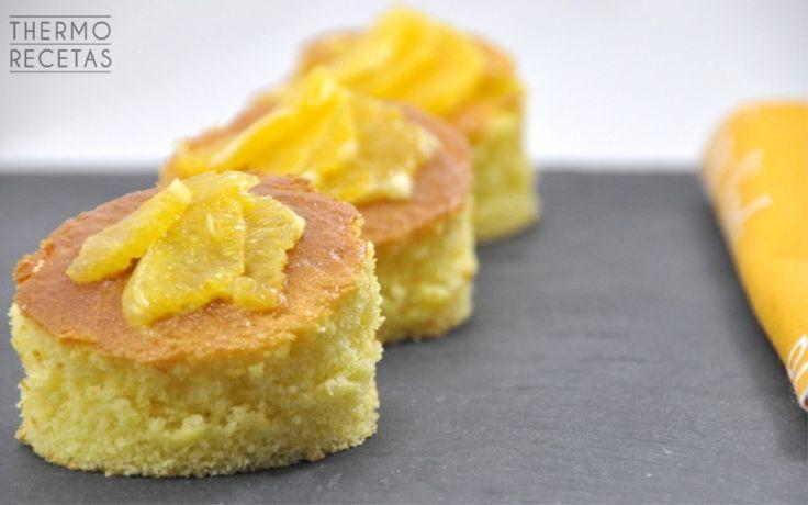 Bizcocho de naranja sin mantequilla