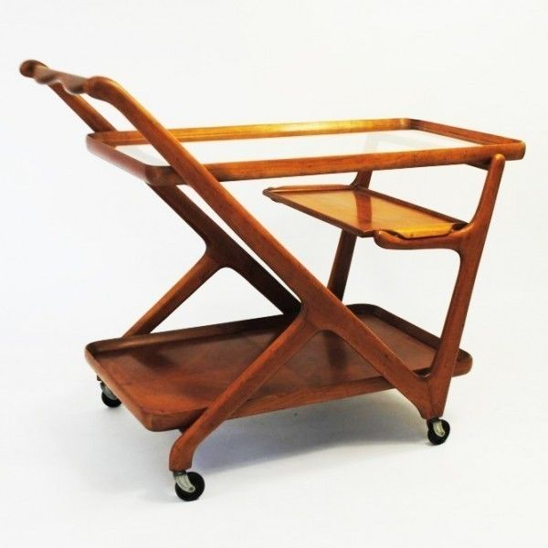 Located using retrostart.com > Serving Trolley by Cesare Lacca for Cassina