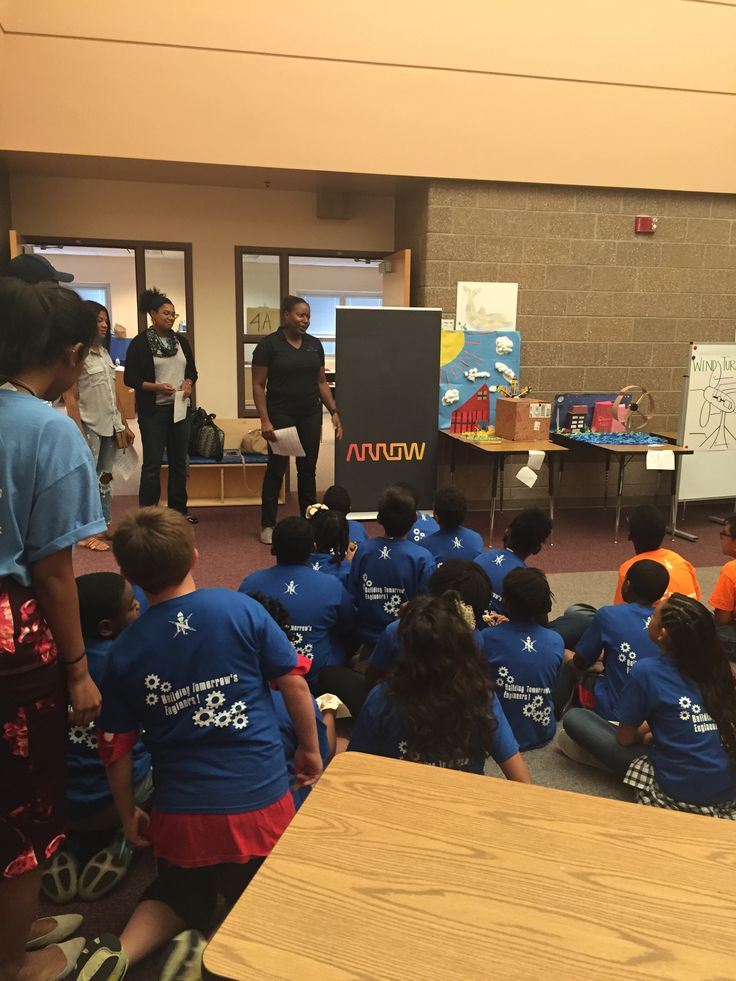 Global technology company Arrow Electronics sponsored a local National Society of Black Engineers (NSBE) Summer Engineering Experience for Kids (SEEK) project last month for third through fifth-grade students at Maxwell Elementary school. #STEM