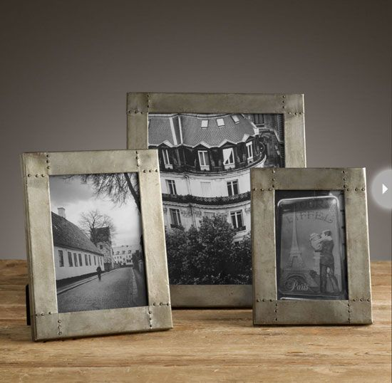 Find that perfect wedding present with these classic, never-fail gift ideas ~~ A collection of picture frames ~ The best way to store memories and keep them alive? Photographs! There will be plenty from the actual wedding, engagement and honeymoon, so give your newlyweds the perfect way to capture and display their favourite photos with classic silver frames.