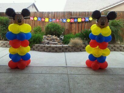 "Photo 3 of 34: Mickey Mouse Clubhouse / Birthday ""Mason's 1st Birthday/Mickey mouse"" 