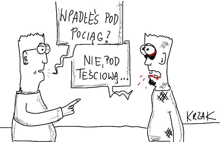 #teściowa
