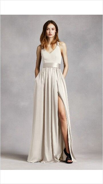 Actually a bridesmaid dress but i like the modern minimalistic aspect of it