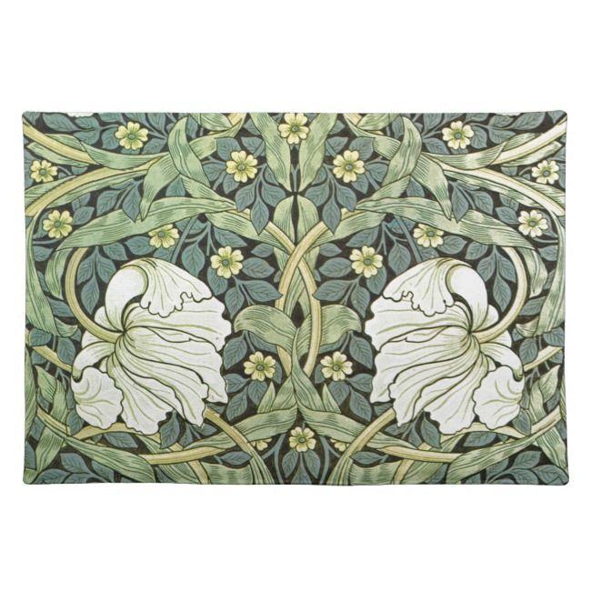 Pimpernel By William Morris Placemat Zazzle Com William Morris Art William Morris Wallpaper William Morris