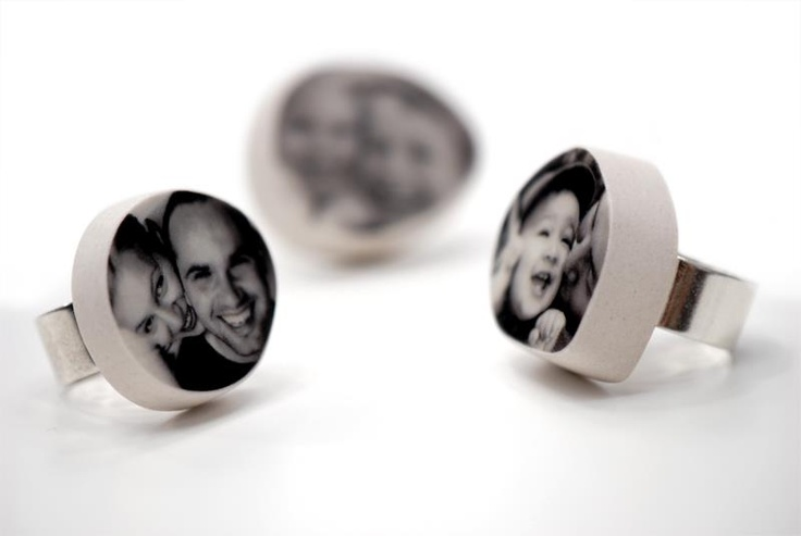 Personalized porcelain jewelry  www.inamaro.com