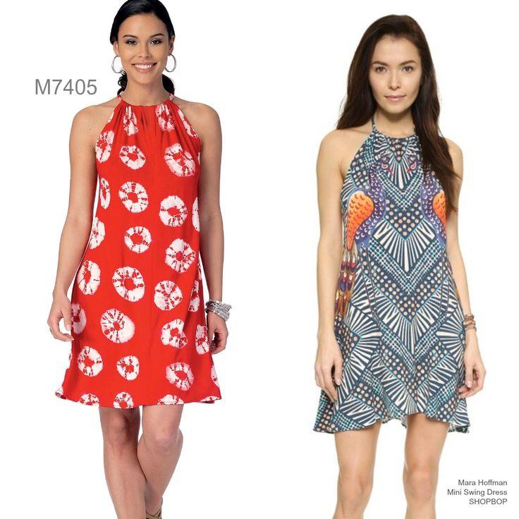 Sew the Look: McCall's M7405 halter dress pattern